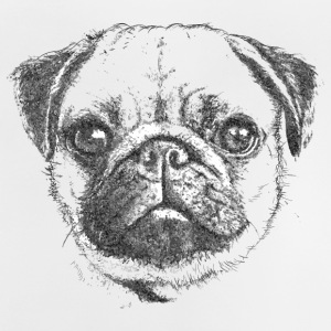 MOPS | PUG Drawing - Baby T-Shirt
