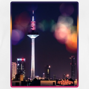 Frankfurt skyline with bokeh - Baby T-Shirt