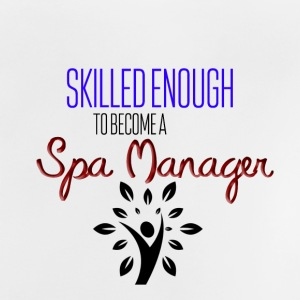 Spa manager - Baby-T-skjorte