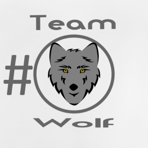 TeamWolf Official Design V2 - Baby-T-skjorte