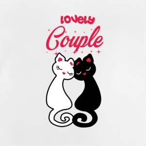 CAT | COUPLE LOVELY - T-shirt Bébé
