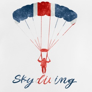 Skydiving #UK - Baby T-Shirt