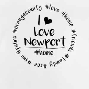 I love Newport - Orange County - Baby T-Shirt