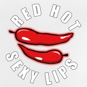 06-43B Red Hot Sexy Lips - Producten - Baby T-shirt