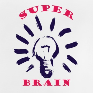 Super Brain Pink - Baby-T-shirt
