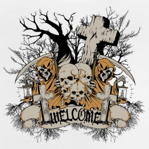 graveyard welcome - Baby T-Shirt