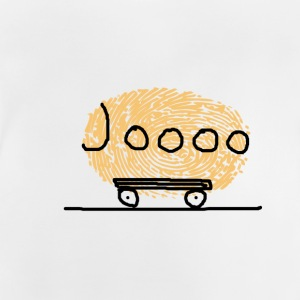 Journey with yellow campers Bob - Baby T-Shirt