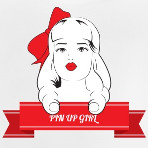 Pin-Up Girl / Rockabilly / 50s Pin-Up Girl med - Baby T-shirt
