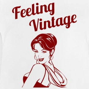 Pin-Up Girl / Rockabilly / 50s: Feeling Vintage - Baby T-Shirt