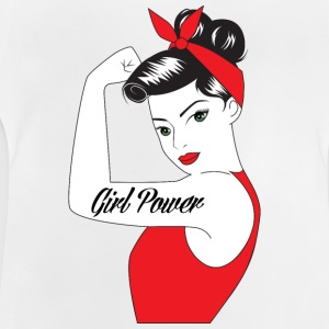 Pin-Up Girl / Rockabilly / 50'erne: Girl Power - Baby T-shirt