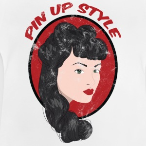 Pin-Up Girl / Rockabilly / 50s: Pin Up Style - Baby T-Shirt