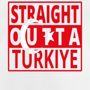 Straight outta Turkiet png - Baby-T-shirt