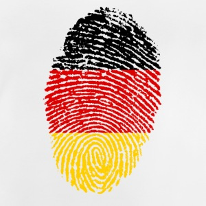 Fingerprint i love Germany Germany - Baby T-Shirt