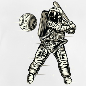Space baseball - Baby-T-skjorte