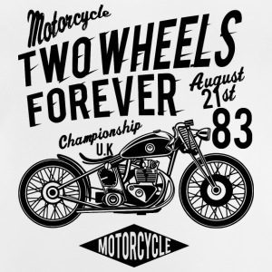 Two Wheels Forever 1 2 - Baby T-Shirt