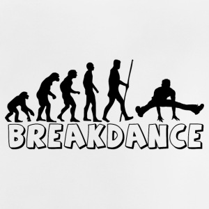 evolutie Breakdance - Baby T-shirt
