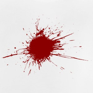 Blood Spatter From A Bullet Wound - Baby-T-shirt