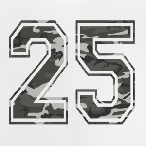 Numbers Camouflage Paintball Bundeswehr 25 - Baby T-Shirt