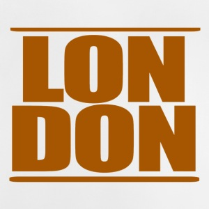 LON DON Logo Brown - Baby T-shirt