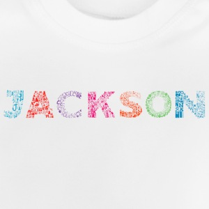 Jackson Letter Name - Baby T-Shirt