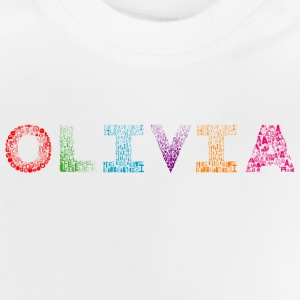 Olivia Letter Name - Baby-T-shirt