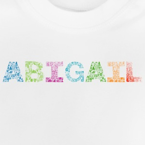 Abigail Letter Name - Baby T-shirt