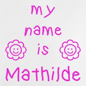 MATHILDE MY NAME IS - T-shirt Bébé