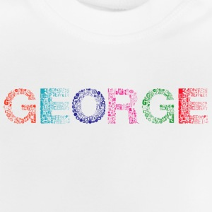 George Letter Name - Baby-T-shirt