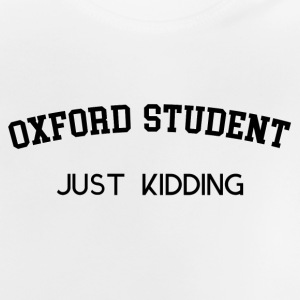 ESTUDIANTE DE OXFORD - Camiseta bebé