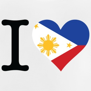 I Love The Philippines - Baby T-Shirt