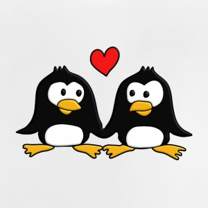 2 in love Pingus :) - Baby T-Shirt