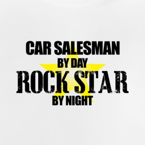 car salesman rocker - Baby T-Shirt