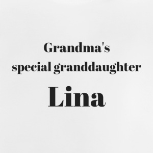 Grandma s special granddaughter Lina - Baby T-Shirt
