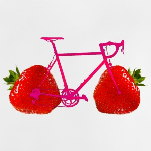 Strawberry Bike - Baby-T-skjorte