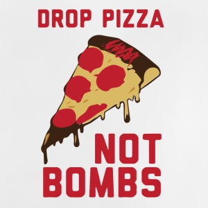 DROP PIZZA - Baby-T-skjorte
