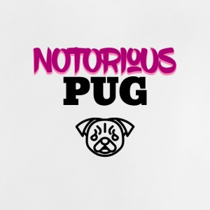 Notorious pug - Baby T-shirt