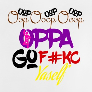 Oppa Go knulla dig - Baby-T-shirt