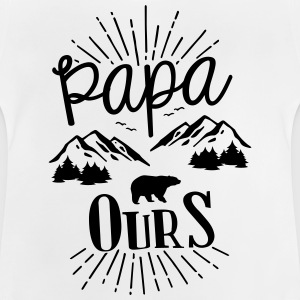 Daddy bear - Baby T-Shirt