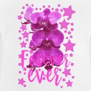 Forever ever Pink flowers collection stars - Baby T-Shirt