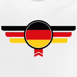 Germany emblem flag - Baby T-Shirt