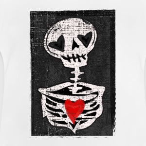 Love skeleton - Baby T-Shirt