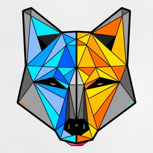 Colourful Wolf - Baby T-Shirt