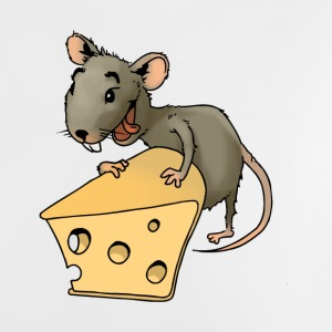 Fiese mouse rodent mouse vermin rodent cheese - Baby T-Shirt