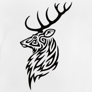 Tribal Stag - Baby T-shirt