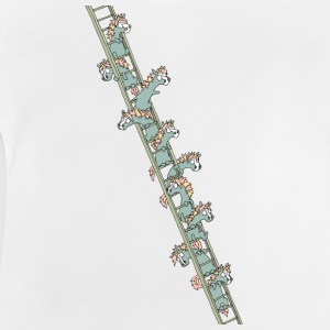 Units on a ladder - Baby T-Shirt
