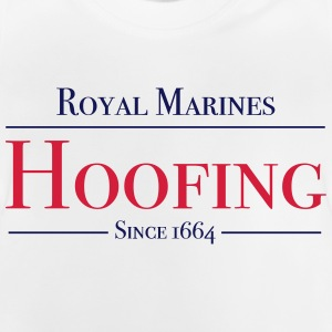 Royal Marines Hoofing Seit 1664 - Baby T-Shirt