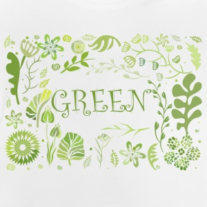 Go green - Baby-T-shirt
