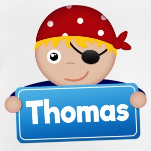 Lite Pirate Thomas - Baby-T-skjorte