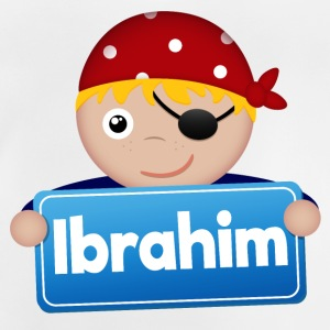 Little pirate Ibrahim - Baby T-Shirt
