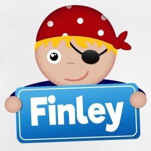 Little Pirate Finley - Baby T-Shirt